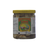 Organic Pickled Garlic